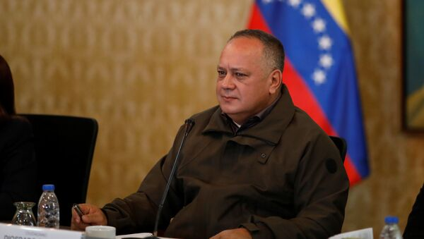 Diosdado Cabello, presidente de la Asamblea Nacional de Venezuela - Sputnik Mundo