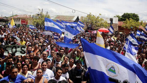 Situaci'on en Nicaragua - Sputnik Mundo
