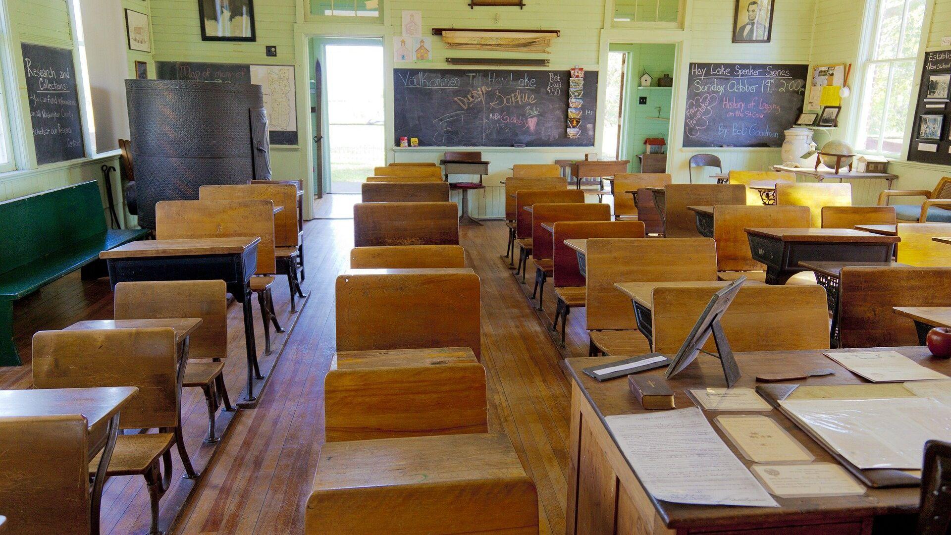 Un salón de clases - Sputnik Mundo, 1920, 05.04.2021