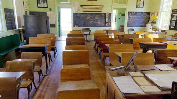 Un salón de clases - Sputnik Mundo