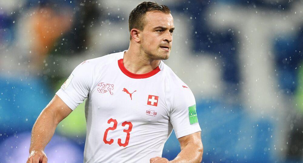 Xherdan Shaqiri, futbolista de la selección de Suiza