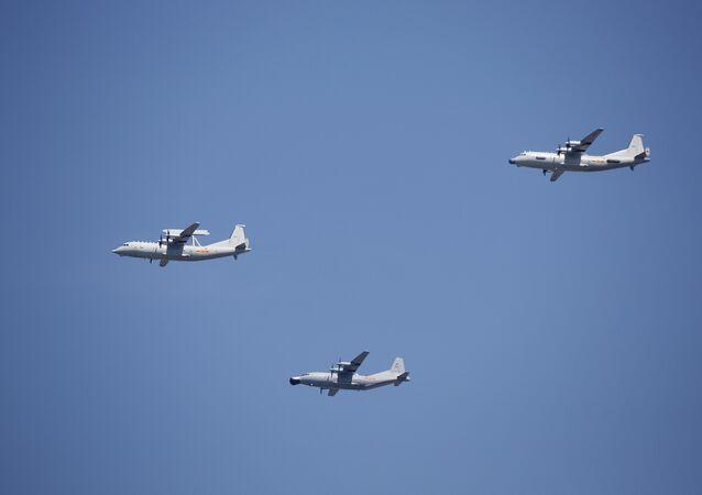 Unos aviones estadounidenses sobre el Pacífico, archivo