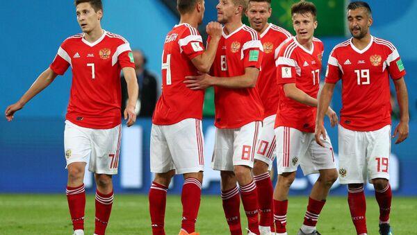 La selección rusa - Sputnik Mundo