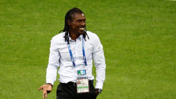 El entrenador de Senegal, Aliou Cisse - Sputnik Mundo