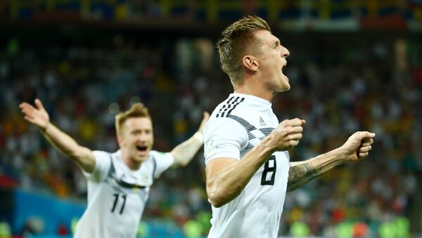 Jugadores de las selecciones de Alemania - Sputnik Mundo