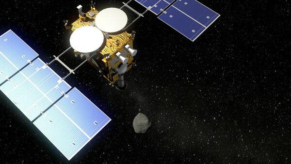 Sonda Hayabusa 2, visualización - Sputnik Mundo