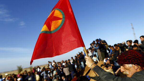La bandera de PKK - Sputnik Mundo