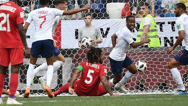El partido Panamá-Inglaterra - Sputnik Mundo