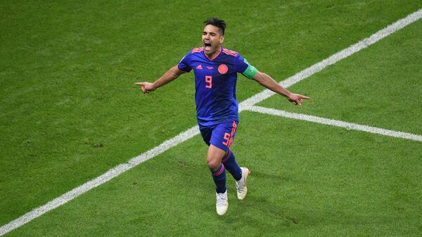 Radamel Falcao, capitán de la selección colombiana - Sputnik Mundo