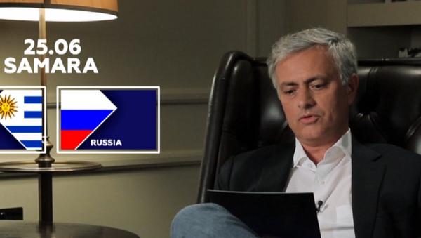 Mourinho: La batalla Rusia-Uruguay puede ser un gran partido - Sputnik Mundo