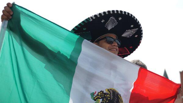 Un hincha mexicano - Sputnik Mundo