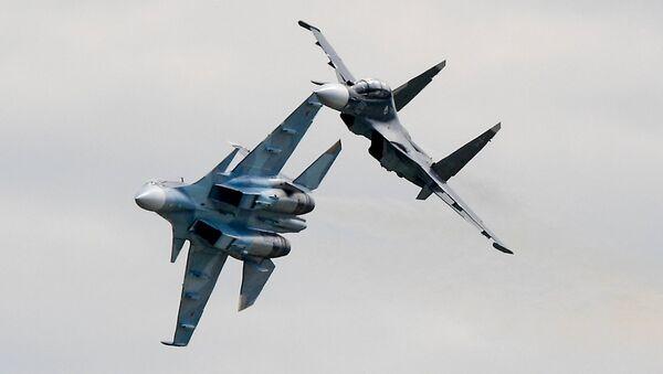 Cazas polivalentes Su-30SM - Sputnik Mundo