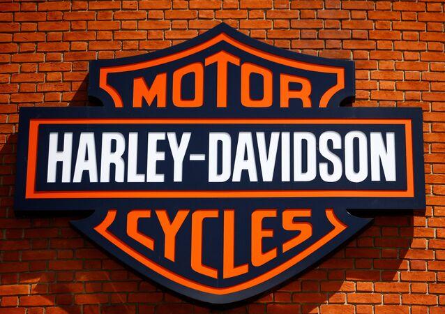 El logo de Harley-Davidson