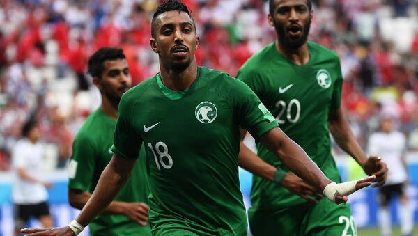 La selección de fútbol de Arabia Saudí - Sputnik Mundo