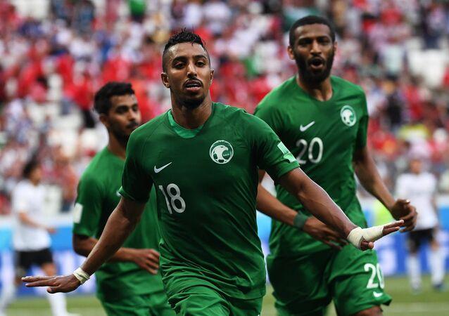 La selección de fútbol de Arabia Saudí