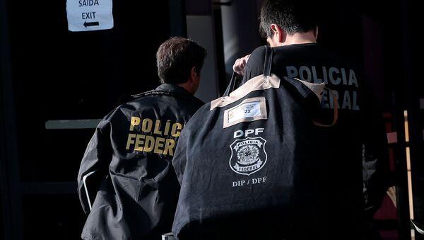 La Policía de Brasil - Sputnik Mundo