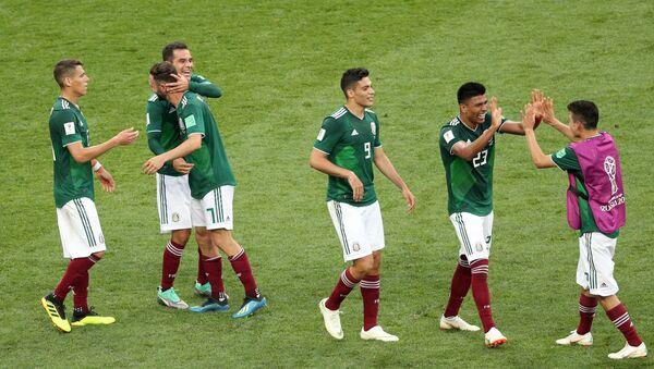 La selección mexicana en el Mundial de Rusia 2018 - Sputnik Mundo