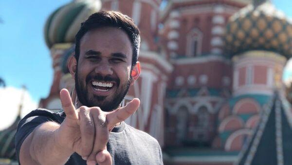 Gabriel Montiel, también conocido como Werevertumorro, el youtuber más popular de México - Sputnik Mundo