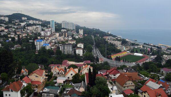 Una base deportiva creada en Sochi para el Mundial. El balneario ruso vivió un enorme impulso debido a los Juegos Olímpicos de 2014 y el Mundial de 2018 - Sputnik Mundo