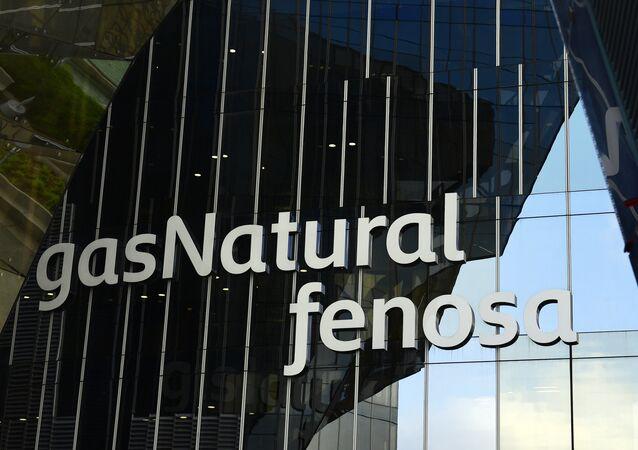 El logo de la compñía española Gas Natural Fenosa