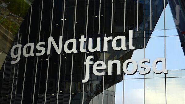 El logo de la compñía española Gas Natural Fenosa - Sputnik Mundo