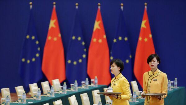 La preparación del diálogo de alto nivel entre la UE y China - Sputnik Mundo