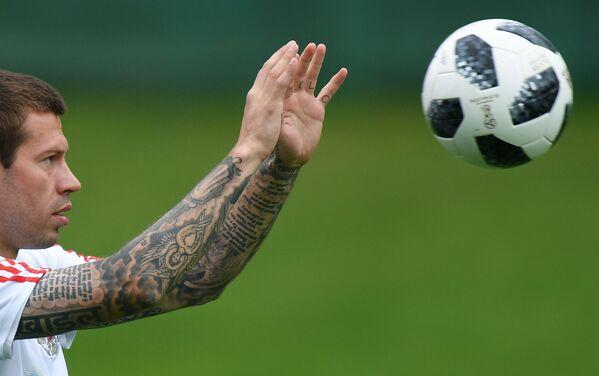 Los tatuajes más impresionantes de los participantes del Mundial 2018 - Sputnik Mundo