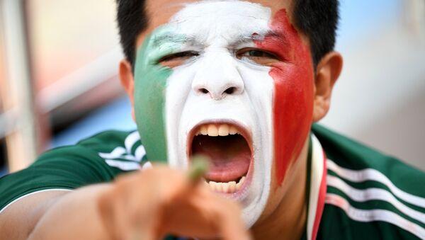 Hincha de la selección de México - Sputnik Mundo