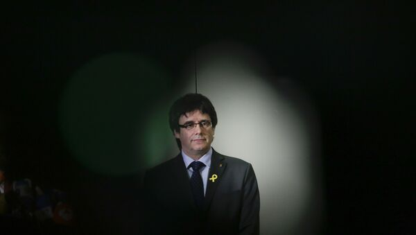 Carles Puigdemont, expresidente de Cataluña - Sputnik Mundo