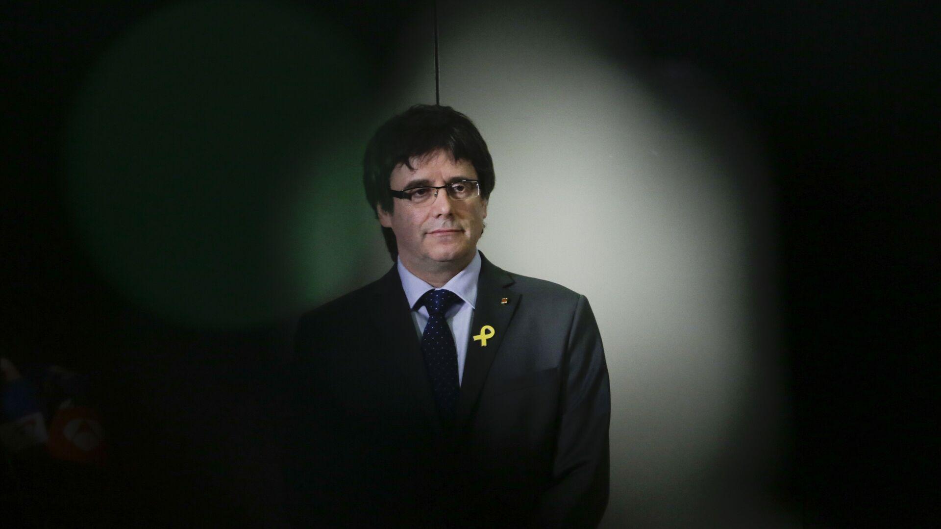 Carles Puigdemont, expresidente de Cataluña - Sputnik Mundo, 1920, 14.04.2021