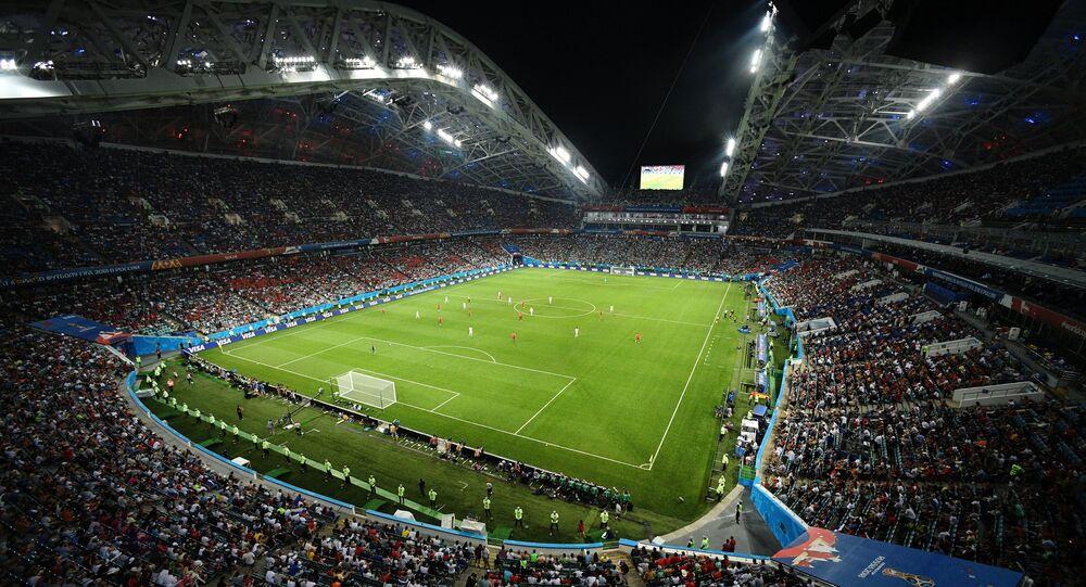 El Mundial de fútbol 2018 en Rusia, estadio Fisht de Sochi