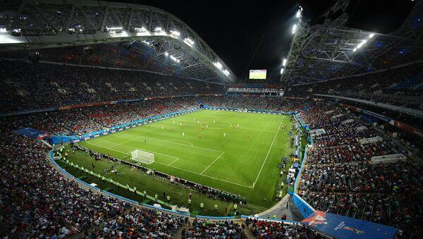 El Mundial de fútbol 2018 en Rusia, estadio Fisht de Sochi - Sputnik Mundo