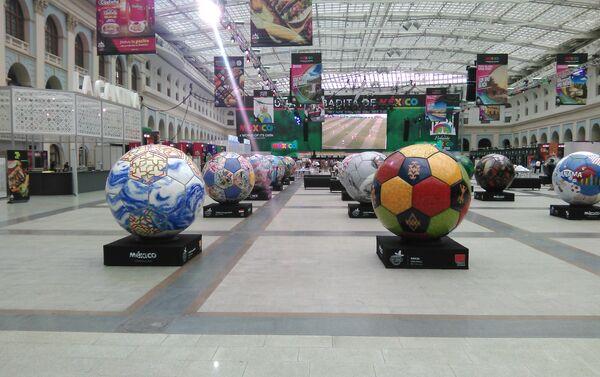Balones gigantes - Sputnik Mundo