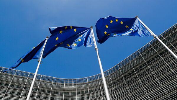 Banderas de la Unión Europea - Sputnik Mundo