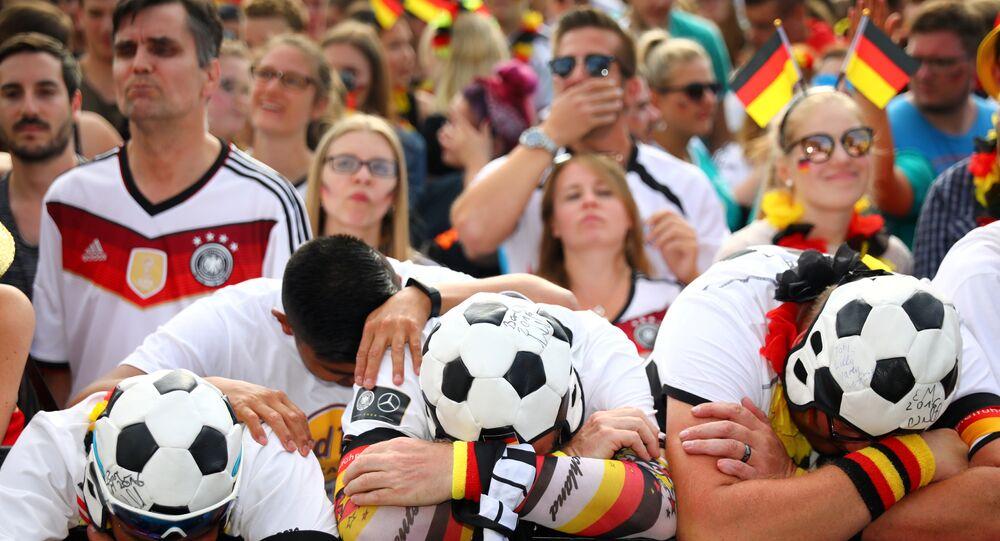 Hinchas alemanes