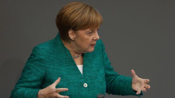 Angela Merkel, la canciller de Alemania - Sputnik Mundo
