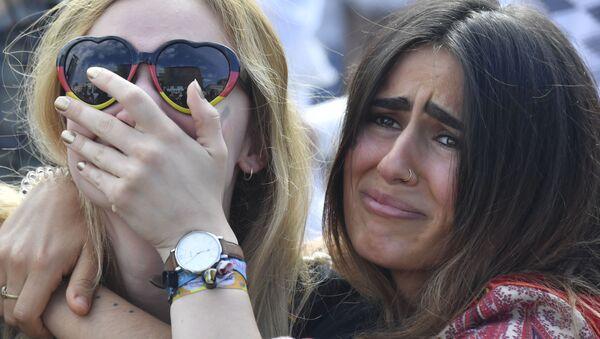 Sonrisas y lágrimas: las emociones a flor de piel de los fans del Mundial de Rusia 2018 - Sputnik Mundo