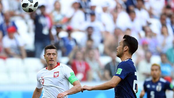 El partido entre Japón y Polonia - Sputnik Mundo