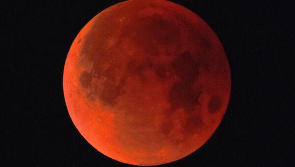 Luna de sangre (archivo) - Sputnik Mundo