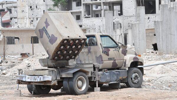 Sistema de misiles sirio Golan - Sputnik Mundo
