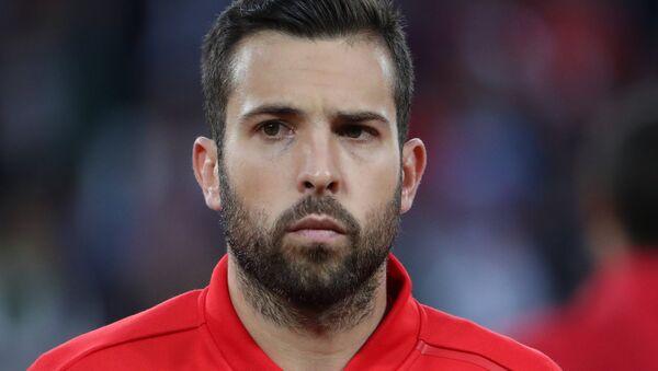 Jordi Alba, jugador de la selección española de fútbol - Sputnik Mundo
