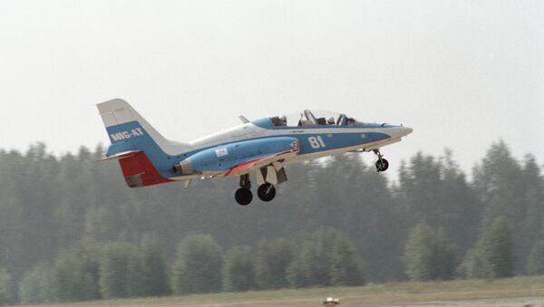 El avión de entrenamiento MiG-AT - Sputnik Mundo