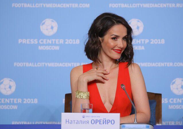 La actriz y cantante Natalia Oreiro (archivo)