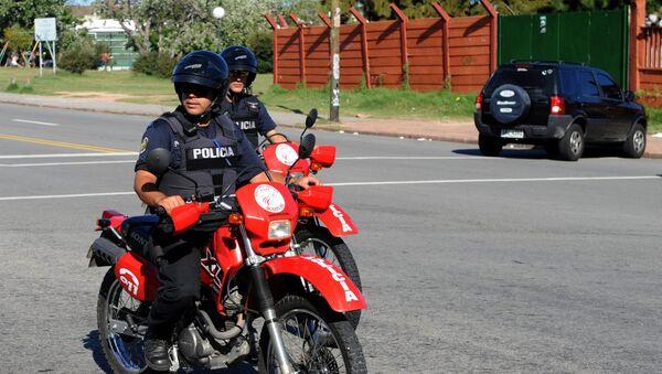 Policías de Uruguay - Sputnik Mundo