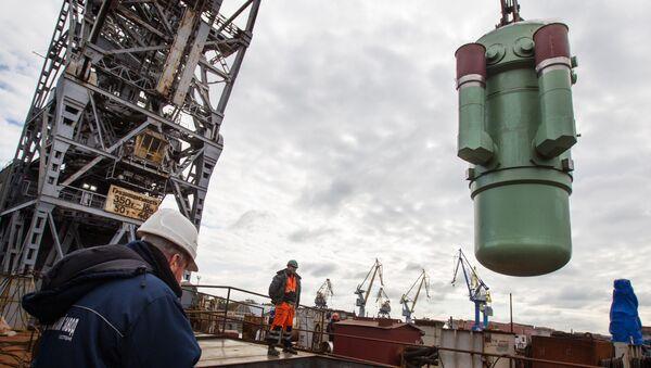 Un componente del reactor nuclear RITM-200 que alimentará el rompehielos ruso Árktika proyecto 22220. Un reactor parecido podría alimentar a los portaviones rusos y chinos - Sputnik Mundo