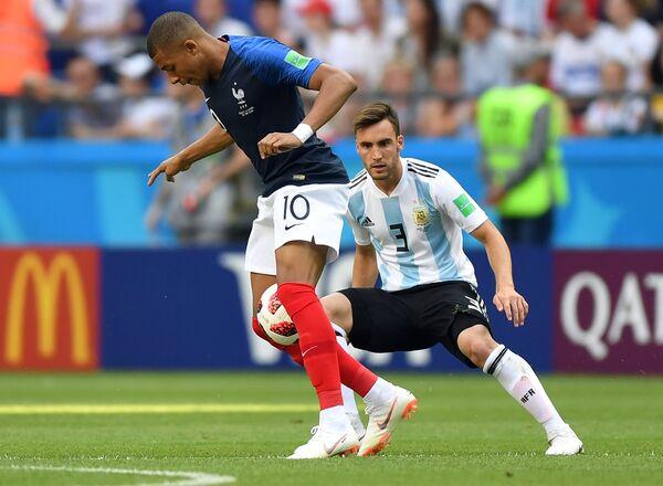 El partido Francia-Argentina - Sputnik Mundo