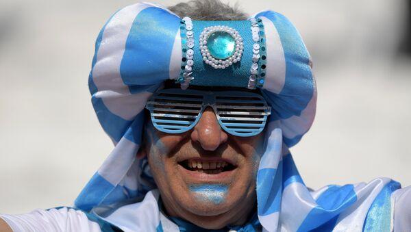 Hincha argentino - Sputnik Mundo