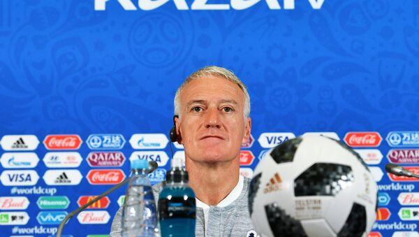 Didier Deschamps, seleccionador del equipo nacional francés - Sputnik Mundo