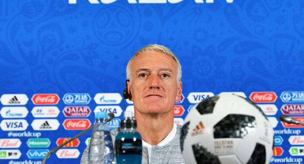 Didier Deschamps, seleccionador del equipo nacional francés