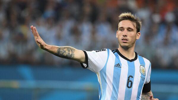 Lucas Biglia, jugador argentino - Sputnik Mundo